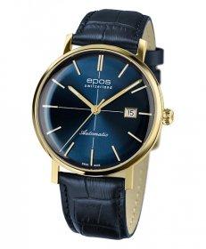 海外取り寄せ(納期:お問合せください) エポス オリジナーレ レトロ 3437YGBL 腕時計 メンズ 自動巻 epos Originale Retro Look