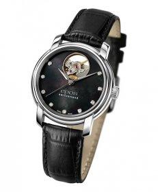 エポス オープンハート ダイヤモンド 4314OHPLBK 腕時計 レディース 自動巻 epos MOP Open Heart Diamonds