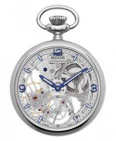エポス スモール モダン スケルトン ポケットウォッチ 2003ASL 懐中時計 メンズ epos Small Modern Skeleton Pocket Watch