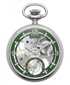 エポス スモール モダン スケルトン ポケットウォッチ 2003AGR 懐中時計 メンズ epos Small Modern Skeleton Pocket Watch