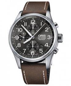 オリス ビッグクラウン プロパイロット クロノグラフ 774 7699 4063D 腕時計 メンズ 自動巻 Oris Big Crown