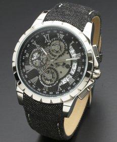 サルバトーレマーラ SM13119D-SSBK/BK 腕時計 メンズ Salvatore Marra