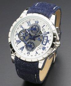 即納可能! サルバトーレマーラ SM13119D-SSWHBL/BL 腕時計 メンズ Salvatore Marra