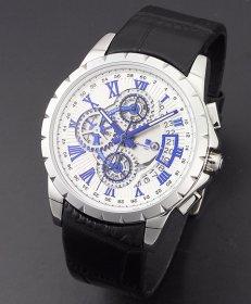 サルバトーレマーラ SM13119S-SSWHBL 腕時計 メンズ Salvatore Marra