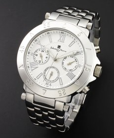 サルバトーレマーラ SM14118-SSWH 腕時計 メンズ Salvatore Marra