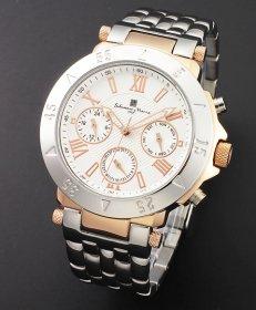 サルバトーレマーラ SM14118-PGWH 腕時計 メンズ Salvatore Marra
