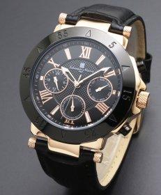 サルバトーレマーラ SM14118S-PGBK 腕時計 メンズ Salvatore Marra
