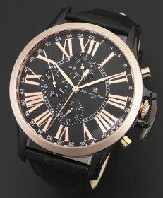サルバトーレマーラ SM14123-PGBK 腕時計 メンズ Salvatore Marra