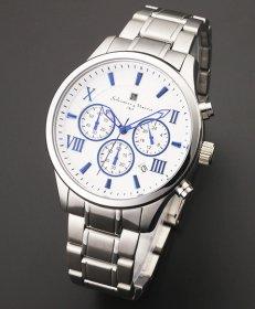 サルバトーレマーラ SM15102-SSWHBL 腕時計 メンズ Salvatore Marra