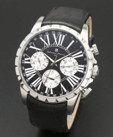 サルバトーレマーラ SM15103-SSBK 腕時計 メンズ Salvatore Marra