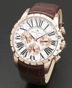 サルバトーレマーラ SM15103-PGWH 腕時計 メンズ Salvatore Marra