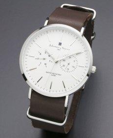 サルバトーレマーラ SM15117-SSWHSV 腕時計 メンズ Salvatore Marra
