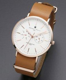 サルバトーレマーラ SM15117-PGWHPG 腕時計 メンズ Salvatore Marra