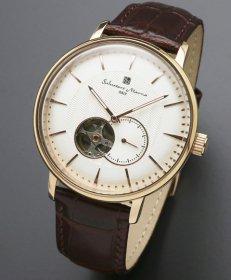 サルバトーレマーラ SM17114-PGWH 腕時計 自動巻き メンズ Salvatore Marra