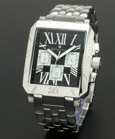 サルバトーレマーラ SM17117-SSBKSV 腕時計 メンズ Salvatore Marra