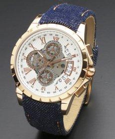 サルバトーレマーラ SM13119D-PGWH/BL 腕時計 メンズ Salvatore Marra