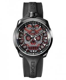 特価品 55%OFF! ボンバーグ BOLT-68 スカルパール レッド BS45H3PBA.SKP-2.3 腕時計 メンズ BOMBERG Skull Pearl Red