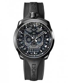 特価品 55%OFF! ボンバーグ BOLT-68 スカルパール ブラック BS45H3PBA.SKP-3.3 腕時計 メンズ BOMBERG Skull Pearl Black