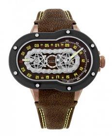 特価 67%OFF! アジムート クレージーライダー CRAZY-RIDER-BRP 腕時計 メンズ SP-1 MECANIQUE AZIMUTH