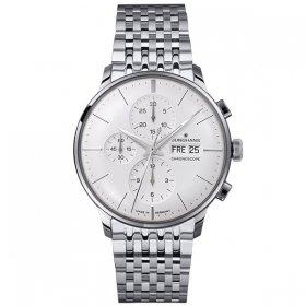 海外取寄せ(納期:約2〜3ヶ月後) 特価品 ユンハンス マイスター クロノスコープ 027 4121 44 (ドイツ語表記) メンズ 腕時計 JUNGHANS 027/4121.44 自動巻