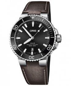 特価 55%OFF! オリス アクイス デイト 73377304134D 腕時計 メンズ ORIS Aquis Date 733 7730 4134D ダイバーズ レザーストラップ