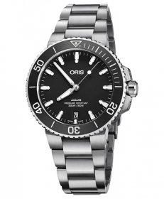 オリス アクイス デイト 73377324124M レディース 腕時計 ORIS Aquis Date 733 7732 4124M ダイバーズ メタルブレス