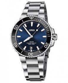 オリス アクイス デイト 73377324135M レディース 腕時計 ORIS Aquis Date 733 7732 4135M ダイバーズ メタルブレス