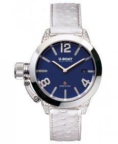 ユーボート クラシコ 40 ブルーダイヤル/ダイヤモンド 7077 腕時計 メンズ U-BOAT CLASSICO 40 BLUE DIAL/DIAMOND