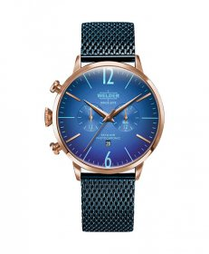 即納可能!ウェルダー ムーディ WWRC418 腕時計 メンズ ユニセックス WELDER MOODY DUAL TIME 45MM