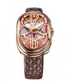 グリモルディ G.T.O. RGSHBR612PK 腕時計 メンズ GRIMOLDI Gran Tipo Ovale