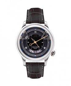特価 73%OFF! ヴィスコンティ オペラ ブラック KW23-01 腕時計 自動巻 メンズ ビスコンティ VISCONTI OPERA BLACK レザーストラップ