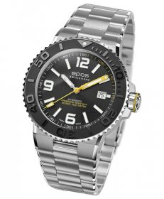 エポス スポーティブ ダイバー 3441ABKM 腕時計 メンズ 自動巻 epos SPORTIVE DIVER
