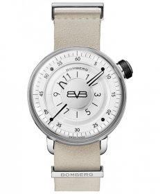 特価品 73%OFF! ボンバーグ BB-01 WHITE & SILVER GENT CT43H3SS.02-1.9 腕時計 メンズ BOMBERG