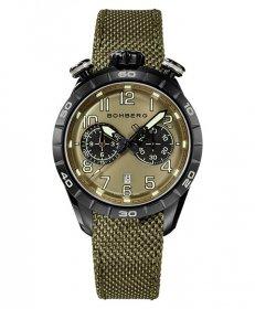 特価品 55%OFF! ボンバーグ BB-68 NS44CHPBA.207.9 腕時計 メンズ クォーツ BOMBERG グリーン