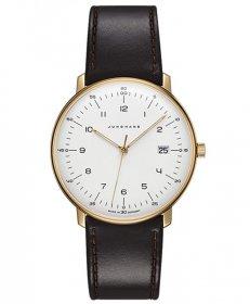 ユンハンス マックスビル 041 7872 00 クォーツ 腕時計 メンズ JUNGHANS Max Bill by Junghans Quartz 041/7872.00 レザーストラップ