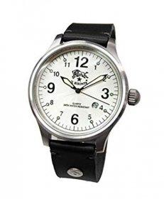 イルビゾンテ H0225 135/NERO ブラック 黒 腕時計 メンズ クオーツ IL BISONTE レザーストラップ