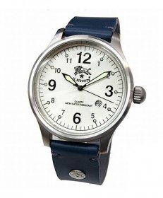 イルビゾンテ H0225 866/BLU ブルー 腕時計 メンズ クオーツ IL BISONTE レザーストラップ
