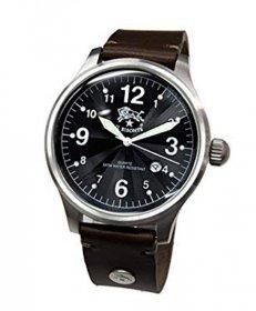 イルビゾンテ H0252 132/DARK BROWN ダークブラウン 腕時計 メンズ クオーツ IL BISONTE レザーストラップ