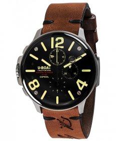 ユーボート カプソイル クロノ SS 8111 腕時計 メンズ U-BOAT CAPSOIL CHRONO SS レザーストラップ