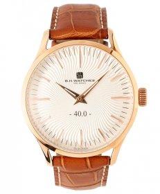 BHウォッチ ミラノ W40RGSLRG 腕時計 ユニセックス B.H.WATCHES MILANO メンズ レディース レザーストラップ ゴールド