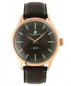 BHウォッチ ミラノ W40RGBKTQ 腕時計 ユニセックス B.H.WATCHES MILANO メンズ レディース レザーストラップ ゴールド
