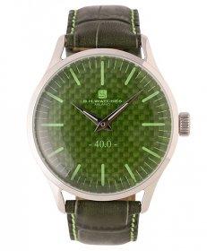 BHウォッチ ミラノ W40STGRLG 腕時計 ユニセックス B.H.WATCHES MILANO メンズ レディース レザーストラップ