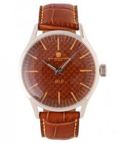 BHウォッチ ミラノ W40STORLO 腕時計 ユニセックス B.H.WATCHES MILANO メンズ レディース レザーストラップ