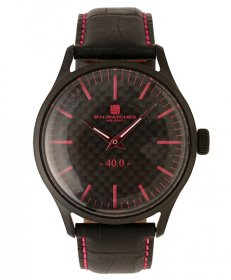 BHウォッチ ミラノ W40BKBKFC 腕時計 ユニセックス B.H.WATCHES MILANO メンズ レディース レザーストラップ