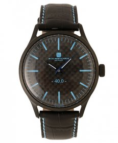 BHウォッチ ミラノ W40BKBKLB 腕時計 ユニセックス B.H.WATCHES MILANO メンズ レディース レザーストラップ