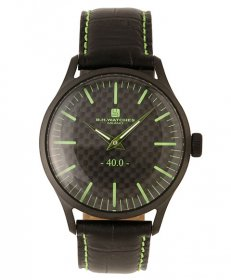 BHウォッチ ミラノ W40BKBKGR 腕時計 ユニセックス B.H.WATCHES MILANO メンズ レディース レザーストラップ