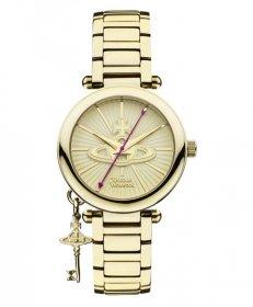 ヴィヴィアンウエストウッド ケンジントン VV006KGD 腕時計 レディース VIVIENNE WESTWOOD  ゴールド メタルブレス