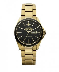 ヴィヴィアンウエストウッド  VV063GD 腕時計 メンズ VIVIENNE WESTWOOD  ゴールド メタルブレス