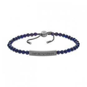 エンポリオアルマーニ bracelet EGS2505060 ダークブルー×ガンメタル ジュエリー EMPORIO ARMANI ブレスレット ユニセックス