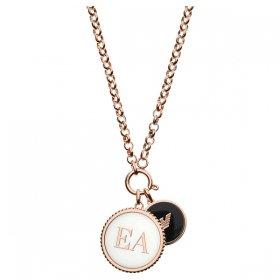 エンポリオアルマーニ necklace EGS2585221 ゴールド×ホワイト×ブラック ジュエリー EMPORIO ARMANI ネックレス ユニセックス